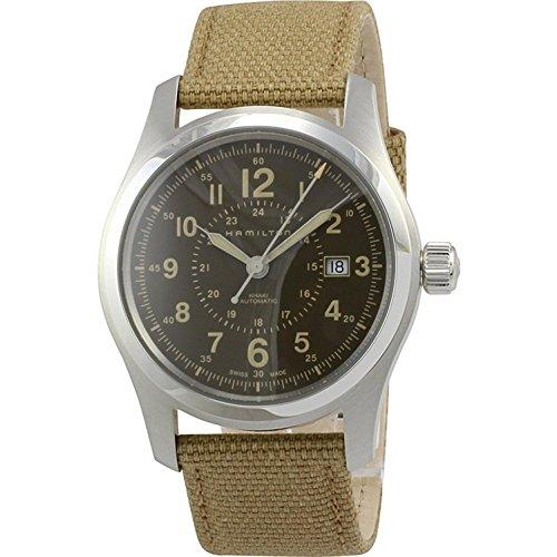 ハミルトン 腕時計 メンズ Hamilton-H70605993_E1 【送料無料】Hamilton Khaki Field Automatic Brown Dial Men's Watch H70605993ハミルトン 腕時計 メンズ Hamilton-H70605993_E1