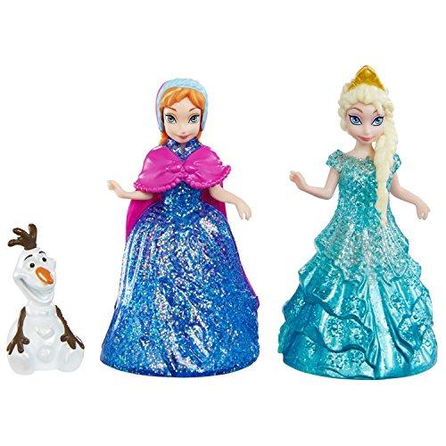 アナと雪の女王 アナ雪 ディズニープリンセス フローズン CBM27 Disney Frozen Glitter Glider Anna, Elsa and Olaf Doll Setアナと雪の女王 アナ雪 ディズニープリンセス フローズン CBM27