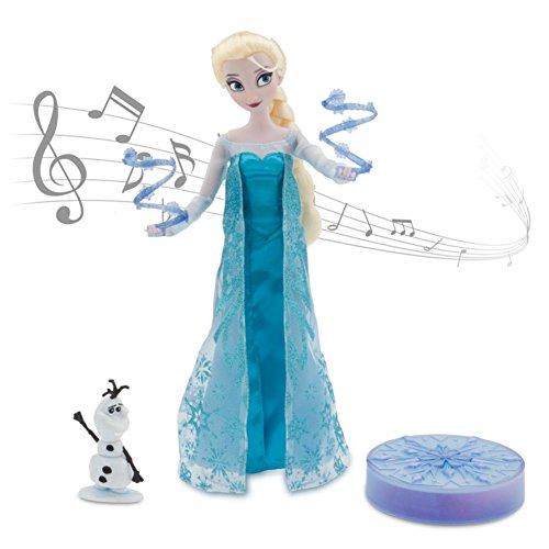 アナと雪の女王 アナ雪 ディズニープリンセス フローズン NA 【送料無料】Disney Frozen Elsa Deluxe Singing Doll Set Olaf - 11