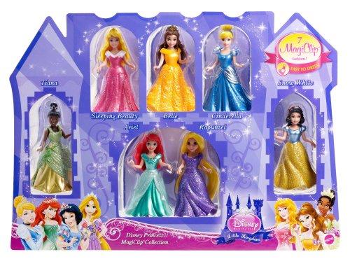 ディズニープリンセス BBD80 Disney Princess Little Kingdom Magiclip 7-Doll Giftset (Discontinued by manufacturer)ディズニープリンセス BBD80