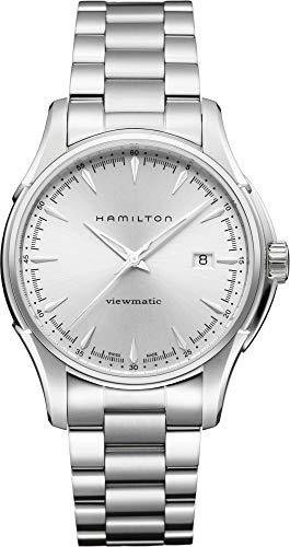 腕時計 ハミルトン メンズ H32665151 【送料無料】Hamilton Men's H32665151 Jazzmaster Silver Dial Watch腕時計 ハミルトン メンズ H32665151