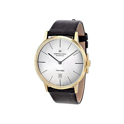 ハミルトン 腕時計 メンズ H38735751 【送料無料】Hamilton Intra-Matic Automatic Yellow Gold PVD Mens Watch H38735751ハミルトン 腕時計 メンズ H38735751