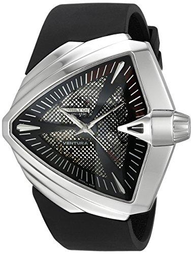 ハミルトン 腕時計 メンズ H24655331 【送料無料】Hamilton Men's H24655331 Ventura XXL Analog Display Swiss Automatic Black Watchハミルトン 腕時計 メンズ H24655331