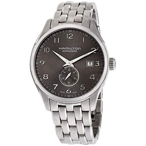 腕時計 ハミルトン メンズ H42515185 【送料無料】Hamilton Men's Jazzmaster Swiss-Automatic Watch with Stainless-Steel Strap, Silver, 20 (Model: H42515185)腕時計 ハミルトン メンズ H42515185