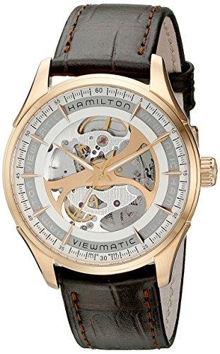 Display メンズ メンズ Wind Self Analog H42545551 Men's Brown H42545551 Automatic Watch腕時計 腕時計 ハミルトン ハミルトン 【送料無料】Hamilton Jazzmaster H42545551