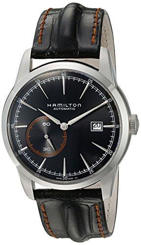 ハミルトン 腕時計 メンズ H40515731 Hamilton Men's H40515731 Timeless Classic Analog Display Swiss Automatic Black Watchハミルトン 腕時計 メンズ H40515731