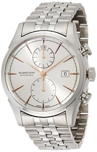 ハミルトン 腕時計 メンズ H32416181 【送料無料】Hamilton Men's Timeless Classic Swiss-Automatic Watch with Stainless-Steel Strap, Silver, 22 (Model: H32416181)ハミルトン 腕時計 メンズ H32416181