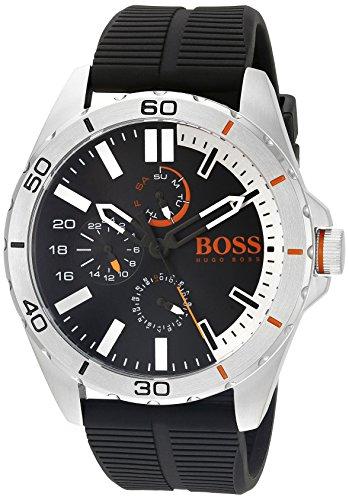 ヒューゴボス 高級腕時計 メンズ 1513290 HUGO BOSS Orange Men's 1513290 berlin Analog Display Japanese Quartz Black Watchヒューゴボス 高級腕時計 メンズ 1513290