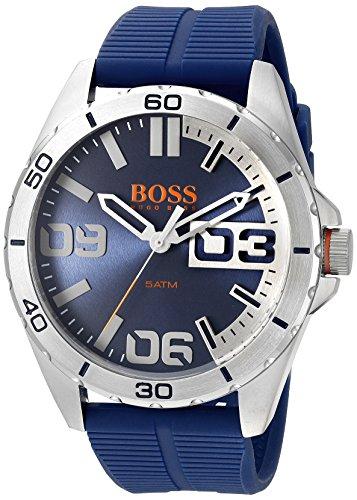 ヒューゴボス 高級腕時計 メンズ 1513286 HUGO BOSS Orange Men's 1513286 berlin Analog Display Quartz Blue Watchヒューゴボス 高級腕時計 メンズ 1513286