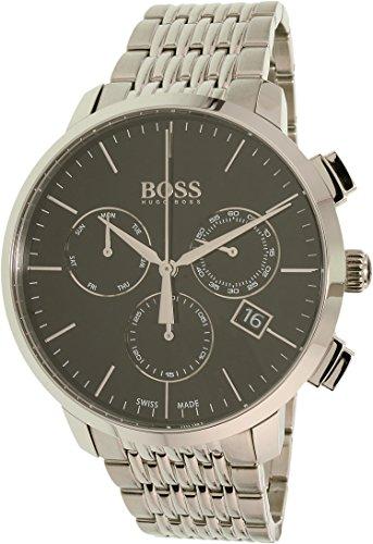 ヒューゴボス 高級腕時計 メンズ 1513267 【送料無料】Hugo Boss Men's 1513267 Silver Stainless-Steel Swiss Quartz Dress Watchヒューゴボス 高級腕時計 メンズ 1513267