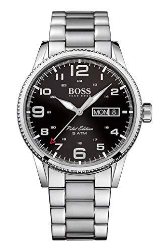 ヒューゴボス 高級腕時計 メンズ 1513327 【送料無料】Boss PILOT 1513327 Mens Wristwatch Design Highlightヒューゴボス 高級腕時計 メンズ 1513327