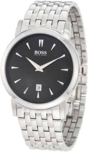 ヒューゴボス 高級腕時計 メンズ 1512720 Hugo Boss Black Dial Stainless Steel Quartz Men's Watch 1512720ヒューゴボス 高級腕時計 メンズ 1512720