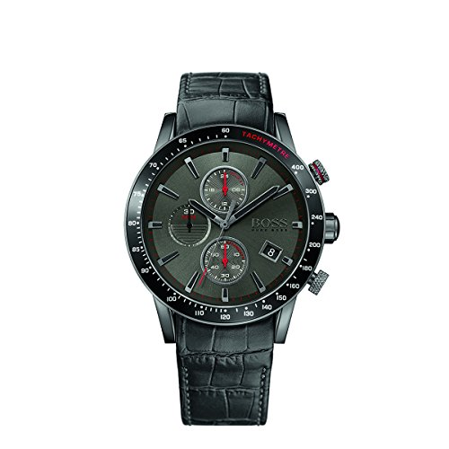 ヒューゴボス 高級腕時計 メンズ 1513445 【送料無料】Hugo Boss Rafale 1513445 / Black Leather Analog Quartz Men's Watchヒューゴボス 高級腕時計 メンズ 1513445