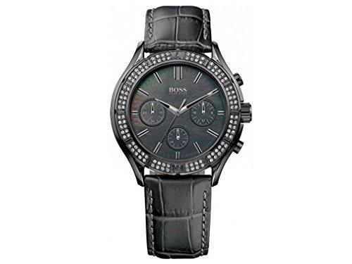 ヒューゴボス 高級腕時計 レディース 1502342 【送料無料】Hugo Boss Leather Chronograph Ladies Watch 1502342ヒューゴボス 高級腕時計 レディース 1502342