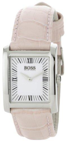 ヒューゴボス 高級腕時計 レディース 1502198 Hugo Boss Women's 1502198 H4012 Silver Dial Pink Leather Strap Watchヒューゴボス 高級腕時計 レディース 1502198