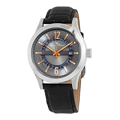 ルシアンピカール 腕時計 メンズ LP-40020-014-RA 【送料無料】Lucien Piccard Oxford Gunmetal Dial Men's Watch LP-40020-014-RAルシアンピカール 腕時計 メンズ LP-40020-014-RA