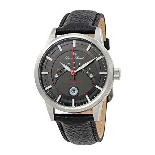 ルシアンピカール 腕時計 メンズ LP-10154-01 【送料無料】Lucien Piccard Sorrento Black Dial Men's Watch LP-10154-01ルシアンピカール 腕時計 メンズ LP-10154-01