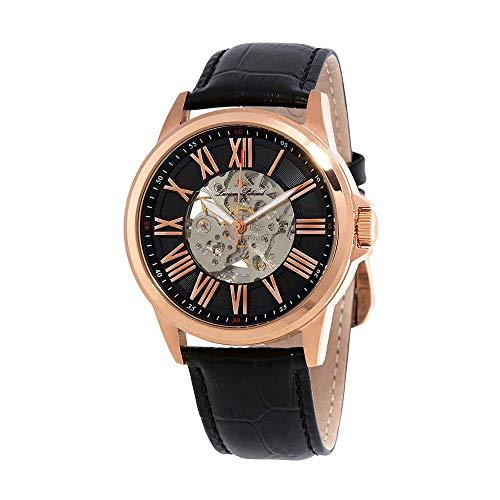 ルシアンピカール 腕時計 メンズ LP-12683A-RG-01 Lucien Piccard Men's LP-12683A-RG-01 Calypso Analog Display Automatic Self Wind Black Watchルシアンピカール 腕時計 メンズ LP-12683A-RG-01