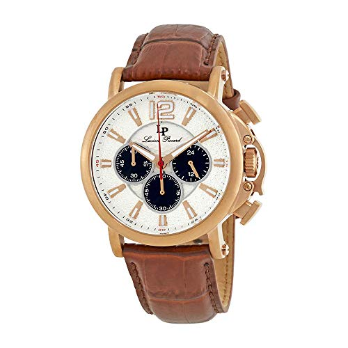 腕時計 ルシアンピカール メンズ LP-40018C-RG-02S 【送料無料】Lucien Piccard Triomf GMT Chronograph Men's Watch 40018C-RG-02S腕時計 ルシアンピカール メンズ LP-40018C-RG-02S