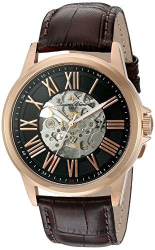 ルシアンピカール 腕時計 メンズ LP-12683A-RG-01-BRW Lucien Piccard Calypso Automatic Mens Watch LP-12683A-RG-01-BRWルシアンピカール 腕時計 メンズ LP-12683A-RG-01-BRW