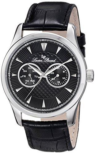 ルシアンピカール 腕時計 メンズ LP-12761-01 【送料無料】Lucien Piccard Men's LP-12761-01 Stellar Analog Display Japanese Quartz Black Watchルシアンピカール 腕時計 メンズ LP-12761-01