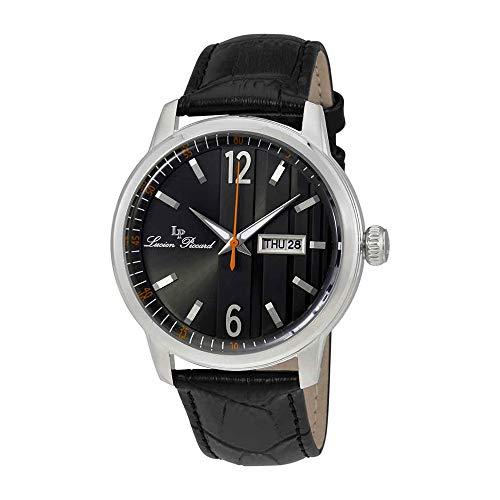 ルシアンピカール 腕時計 メンズ LP-40027-01 Lucien Piccard Milanese Date Day Men's Watch 40027-01ルシアンピカール 腕時計 メンズ LP-40027-01