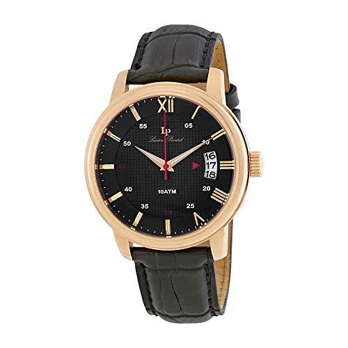 ルシアンピカール 腕時計 メンズ LP-40019-RG-01 【送料無料】Lucien Piccard Amici Black Dial Men's Watch LP-40019-RG-01ルシアンピカール 腕時計 メンズ LP-40019-RG-01