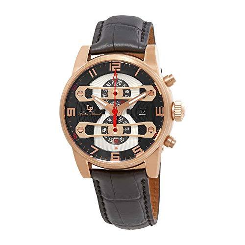 腕時計 ルシアンピカール メンズ LP-40045-RG-01 【送料無料】Lucien Piccard Bosphorus Chronograph Men's Watch LP-40045-RG-01腕時計 ルシアンピカール メンズ LP-40045-RG-01