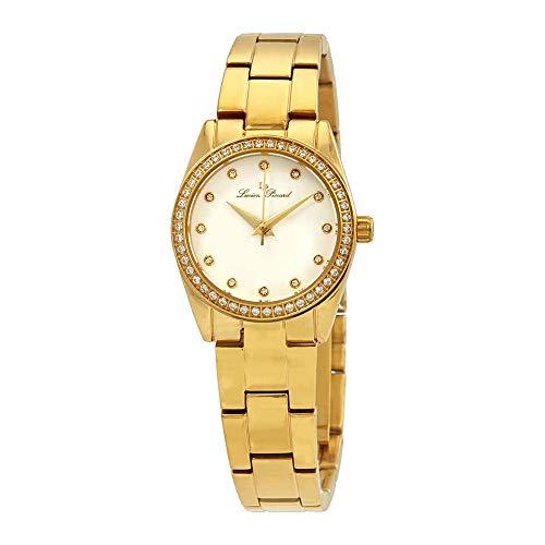 ルシアンピカール 腕時計 レディース LP-40023-YG-22 【送料無料】Lucien Piccard Labelle Crystal Ladies Watch 40023-YG-22ルシアンピカール 腕時計 レディース LP-40023-YG-22