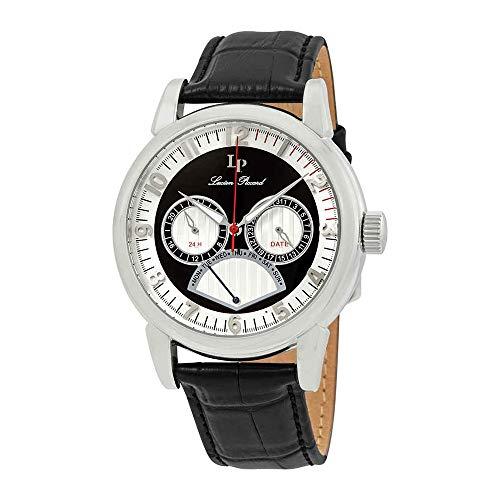 ルシアンピカール 腕時計 メンズ LP-15051-02S Lucien Piccard Men's LP-15051-02S Analog Display Quartz Black Watchルシアンピカール 腕時計 メンズ LP-15051-02S