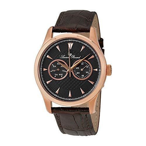ルシアンピカール 腕時計 メンズ LP-12761-RG-014-BRW Lucien Piccard Stellar Grey Dress Men's Watch 12761-RG-014-BRWルシアンピカール 腕時計 メンズ LP-12761-RG-014-BRW