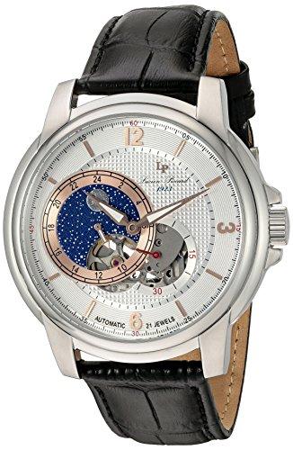ルシアンピカール 腕時計 メンズ LP-15156-02S-RA Lucien Piccard Nebula Moon Accent Automatic Men's Watch LP-15156-02S-RAルシアンピカール 腕時計 メンズ LP-15156-02S-RA