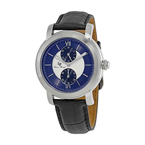 腕時計 ルシアンピカール メンズ LP-40026-02S-BLC-BA 【送料無料】Lucien Piccard Spiga Dual Time Men's Watch 40026-02S-BLC-BA腕時計 ルシアンピカール メンズ LP-40026-02S-BLC-BA