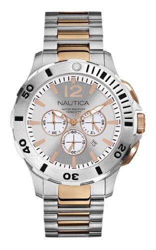 ノーティカ 腕時計 メンズ N27525G Nautica Men's N27525G BFD 101 Dive Style Chrono Watchノーティカ 腕時計 メンズ N27525G