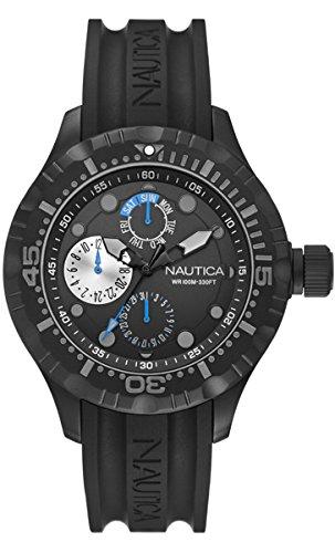 ノーティカ 腕時計 メンズ A16681G 【送料無料】Nautica - Wristwatch, Analog Quartz, siliconeノーティカ 腕時計 メンズ A16681G