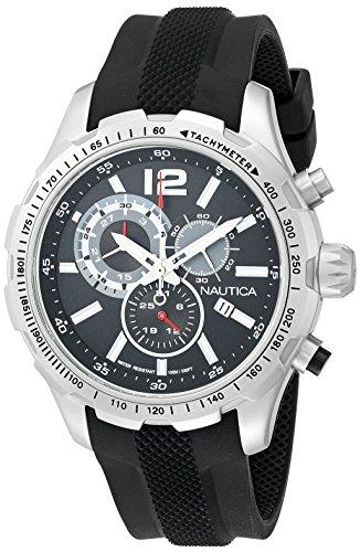 ノーティカ 腕時計 メンズ NAD15512G 【送料無料】Nautica Men's NAD15512G NST 30 Analog Display Quartz 黒 Watchノーティカ 腕時計 メンズ NAD15512G