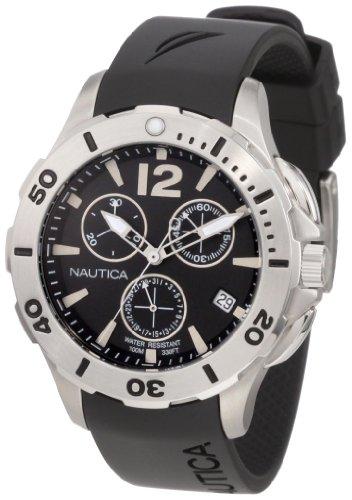 ノーティカ 腕時計 メンズ N15614M Nautica Men's N15614M BFD 101 Dive Style Chrono Mid Watchノーティカ 腕時計 メンズ N15614M