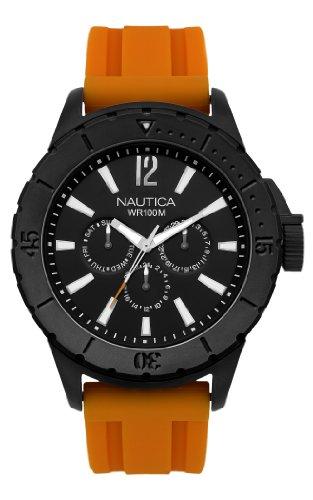 ノーティカ 腕時計 メンズ N17595G 【送料無料】Nautica Men's N17595G NSR 05 Sporty Resin Watchノーティカ 腕時計 メンズ N17595G
