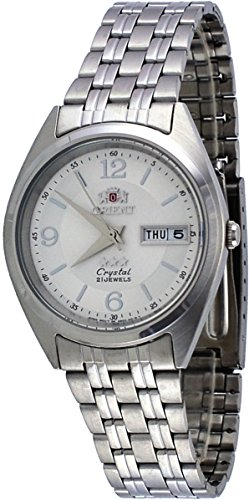 オリエント 腕時計 メンズ FAB0000EW 【送料無料】Orient FAB0000EW Men's 3 Star Stainless Steel White Dial Day Date Automatic Watchオリエント 腕時計 メンズ FAB0000EW