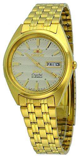 オリエント 腕時計 メンズ FAB00008C 【送料無料】Orient #FAB00008C Men's 3 Star Standard Gold Tone Champagne Dial Automatic Watchオリエント 腕時計 メンズ FAB00008C