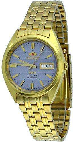 オリエント 腕時計 メンズ FAB00008K 【送料無料】Orient #FAB00008K Men's 3 Star Standard Gold Tone Grey Dial Automatic Watchオリエント 腕時計 メンズ FAB00008K