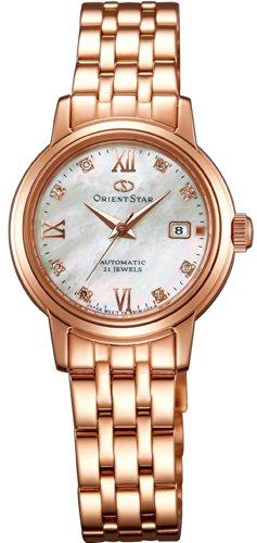 オリエント 腕時計 レディース WZ0451NR 【送料無料】Orient Star Lady's White Shell + Pink Gold Wz0451nr Made in Japanオリエント 腕時計 レディース WZ0451NR