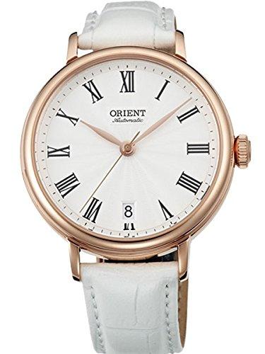 オリエント 腕時計 メンズ Orient Soma Automatic Dress Watch with White Dial and Rose Goldtone Case ER2K002Wオリエント 腕時計 メンズ