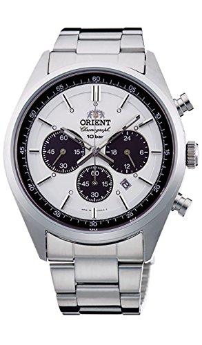 オリエント 腕時計 メンズ WV0041TX 【送料無料】ORIENT Men's watch NEO 70's neo-Seventies SOLAR PANDA milky white WV0041TXオリエント 腕時計 メンズ WV0041TX