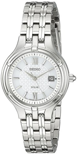 セイコー 腕時計 レディース SUT217 Seiko Women's SUT217 Ladies Dress Solar Analog Display Japanese Quartz Silver Watchセイコー 腕時計 レディース SUT217