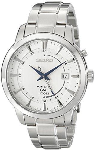 セイコー 腕時計 メンズ SUN037 Seiko Men's SUN037 Analog Display Analog Quartz Silver Watchセイコー 腕時計 メンズ SUN037