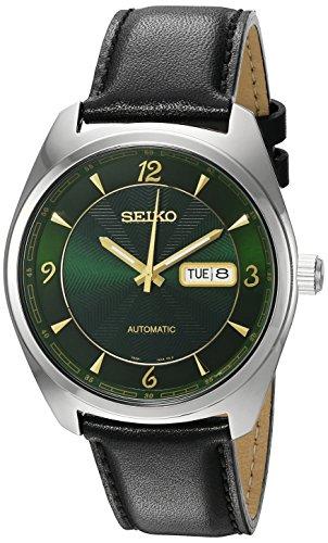 セイコー 腕時計 メンズ SNKN69 Seiko Men's 'Recraft Series' Japanese Automatic Stainless Steel and Black Leather Dress Watch (Model: SNKN69)セイコー 腕時計 メンズ SNKN69