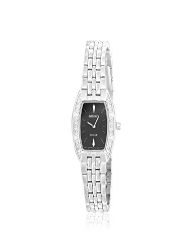 セイコー 腕時計 レディース 22558 Seiko Women's SUP149 Stainless Steel/Black Stainless Steel Watchセイコー 腕時計 レディース 22558