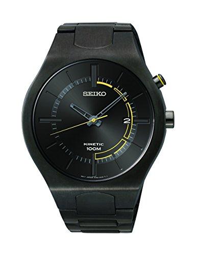 セイコー 腕時計 メンズ SKA649 【送料無料】Seiko Men's SKA649 Analog Display Japanese Quartz Black Watchセイコー 腕時計 メンズ SKA649