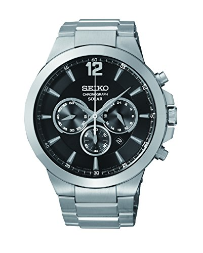 セイコー 腕時計 メンズ SSC321 Seiko Men's SSC321 Analog Display Analog Quartz Silver Watchセイコー 腕時計 メンズ SSC321